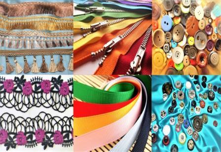 Купить фурнитуру для одежды, со склада в Москве, оптом и в розницу, от интернет-магазина fashion G